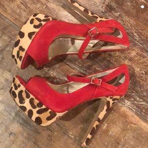Sassy Jessica Simpson Heels